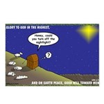 Silent Night Light Postcards (Package of 8)
