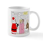 Santa Shopping Mug