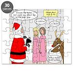 Santa Shopping Puzzle