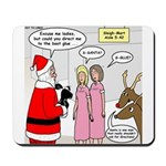 Santa Shopping Mousepad