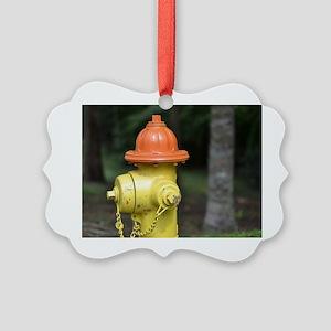Fire Hydrant  Picture Ornament