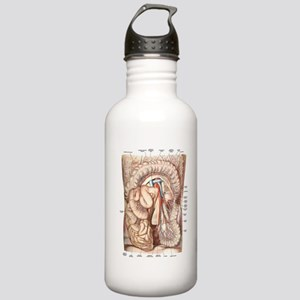 Anatomy of the Abdomen Stainless Water Bottle 1.0L