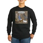 Manger Housekeeping Long Sleeve Dark T-Shirt