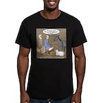 Manger Housekeeping Men's Fitted T-Shirt (dark)