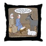 Manger Housekeeping Throw Pillow