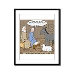 Manger Housekeeping Framed Panel Print