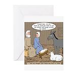 Manger Housekeeping Greeting Cards (Pk of 10)