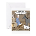 Manger Housekeeping Greeting Cards (Pk of 20)