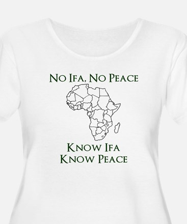 Know Ifa Plus Size T-Shirt