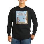 Little Drummer Boy Long Sleeve Dark T-Shirt