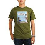 Little Drummer Boy Organic Men's T-Shirt (dark)