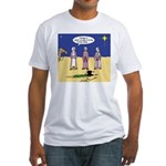 Frosty and the Wise Men Fitted T-Shirt