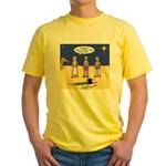Frosty and the Wise Men Yellow T-Shirt