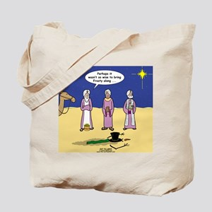 f0edb35199c7 Frosty and the Wise Men Tote Bag