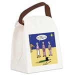Frosty and the Wise Men Canvas Lunch Bag