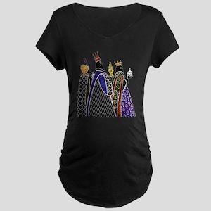 Three Magi Bearing Gifts Maternity T-Shirt