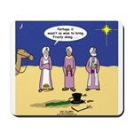 Frosty and the Wise Men Mousepad