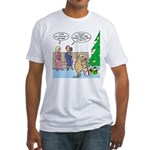 Boa for Christmas Fitted T-Shirt