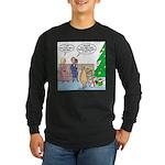 Boa for Christmas Long Sleeve Dark T-Shirt