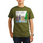 Boa for Christmas Organic Men's T-Shirt (dark)
