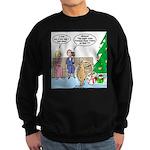 Boa for Christmas Sweatshirt (dark)