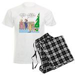 Boa for Christmas Men's Light Pajamas