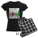 Boa for Christmas Women's Dark Pajamas