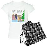 Boa for Christmas Women's Light Pajamas