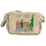 Boa for Christmas Messenger Bag