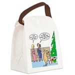 Boa for Christmas Canvas Lunch Bag