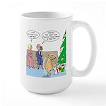 Boa for Christmas Large Mug