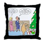 Boa for Christmas Throw Pillow