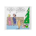 Boa for Christmas Throw Blanket