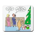 Boa for Christmas Mousepad