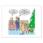 Boa for Christmas Small Poster