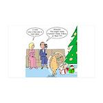 Boa for Christmas 35x21 Wall Decal