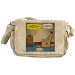 Stupid Holiday Commercial Messenger Bag