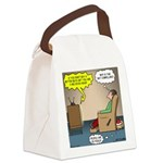 Stupid Holiday Commercial Canvas Lunch Bag