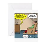 Stupid Holiday Commercial Greeting Cards (Pk of 10