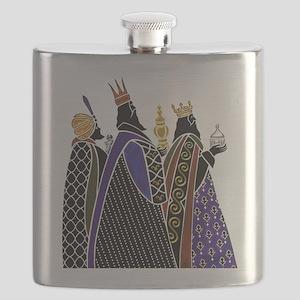 Three Magi Bearing Gifts Flask