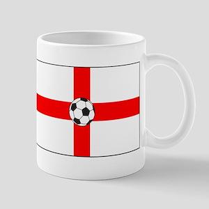 soccer flag-England Mug