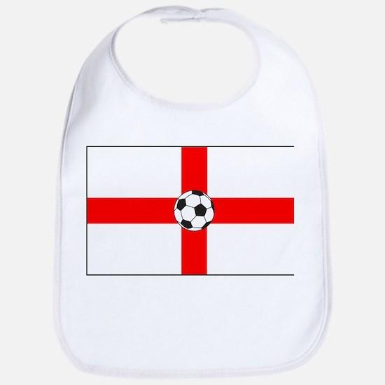 soccer flag-England Bib