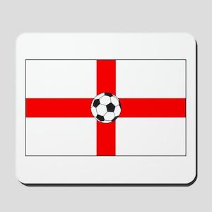 soccer flag-England Mousepad