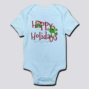 Hoppy Holidays - Frogs Body Suit
