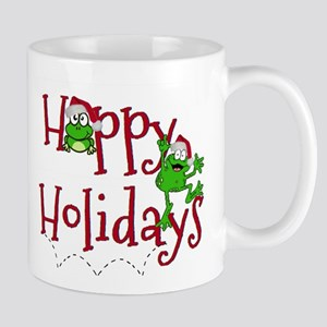 Hoppy Holidays - Frogs Mugs