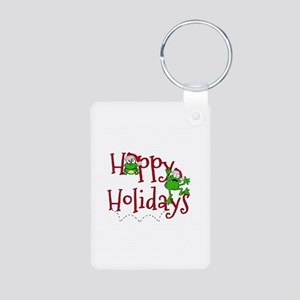Hoppy Holidays - Frogs Keychains