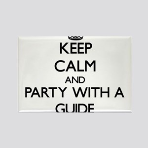 Keep Calm and Party With a Guide Magnets