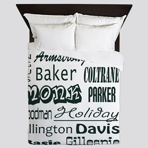 jazz Queen Duvet