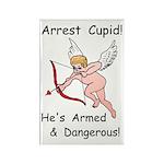 Arrest Cupid Rectangle Magnet (100 pack)
