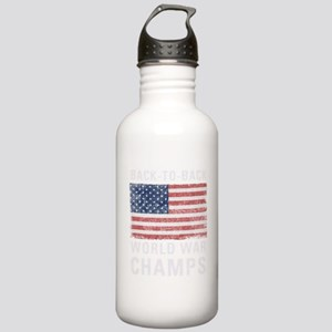 Back to Back World War Stainless Water Bottle 1.0L